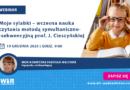 WEBINAR: Moje sylabki – wczesna nauka czytania metodą symultaniczno-sekwencyjną prof. J. Cieszyńskiej – 19.12.2020