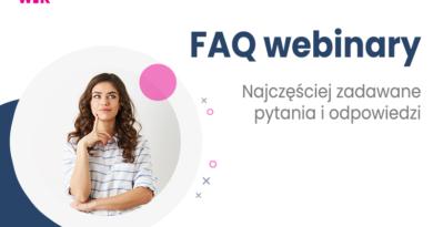 FAQ | Webinary – często zadawane pytania i odpowiedzi